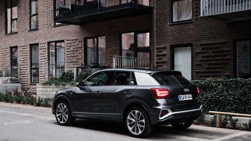 Start prøveturen af en Audi hjemmefra