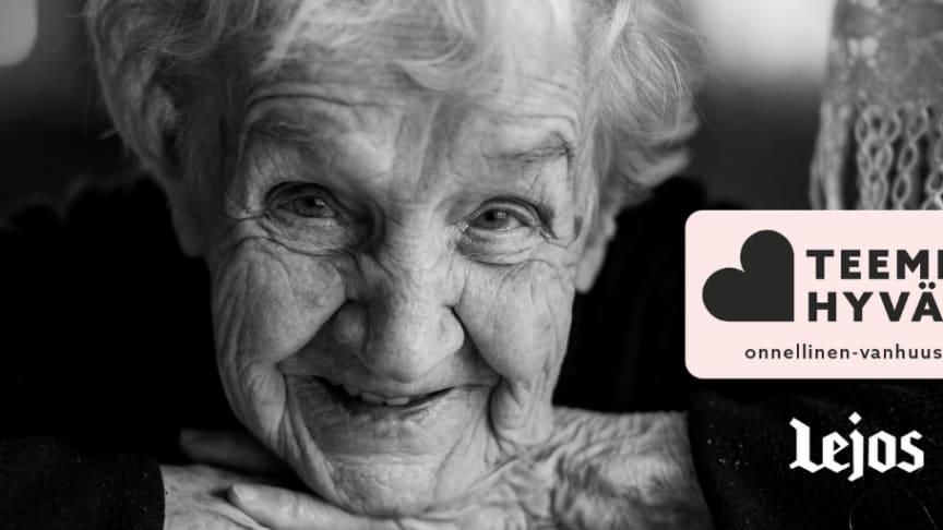 Annoimme iloa ja aikaa yksinäiselle ja vähävaraiselle vanhukselle!