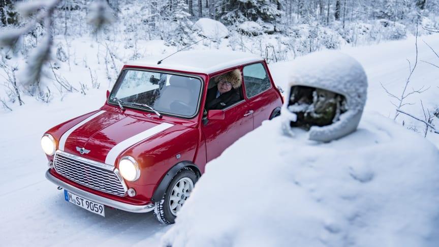 MINI juleeventyr med rallylegenden Rauno Aaltonen