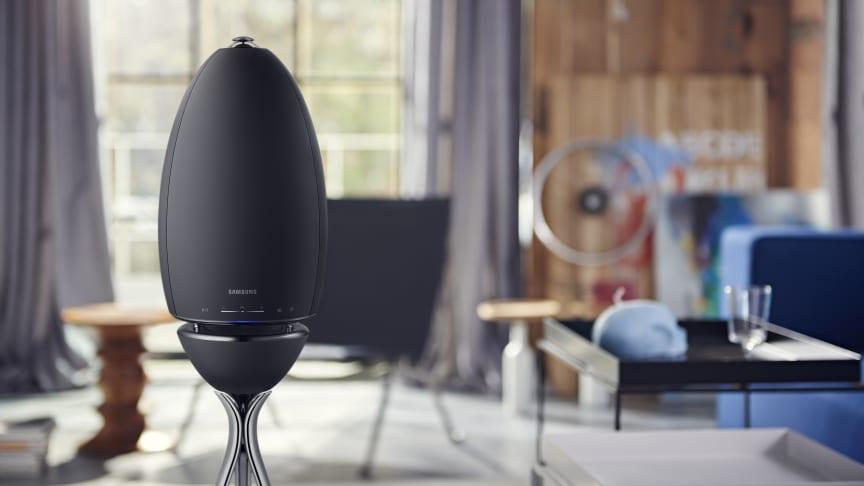 Stilren 360-grader musik med Samsungs nye trådløse højttalere
