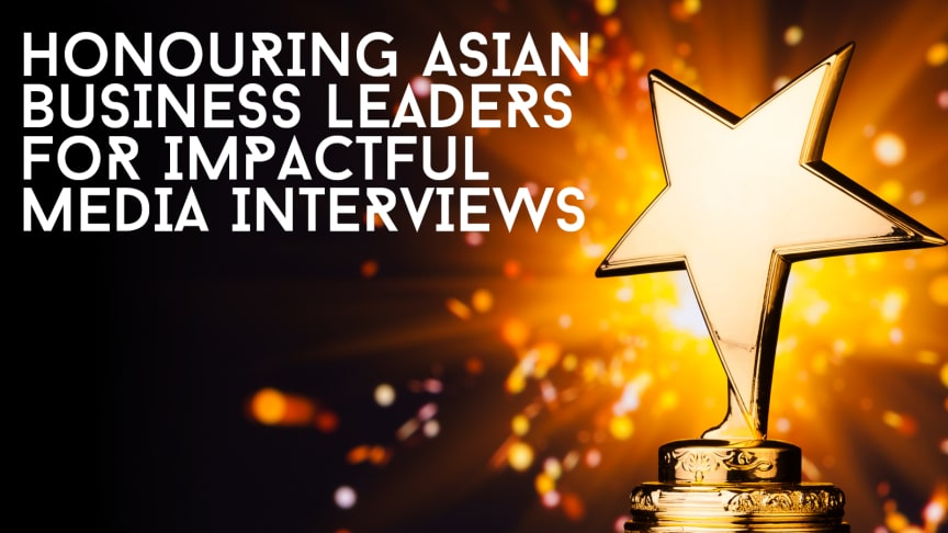 Director of Enterprise Singapore's Startup Development Division, Lim Seow Hui wins for Best Broadcast Interview