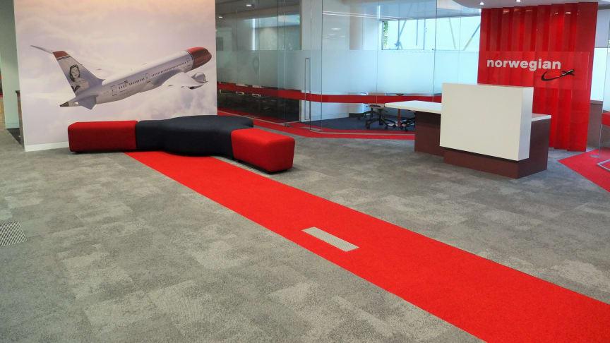 Norwegian lands at new UK headquarters