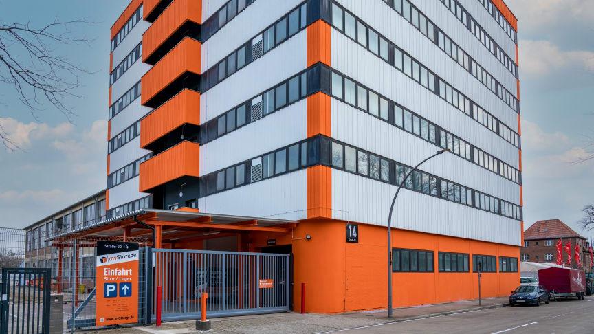 myStorage Gebäude in der Wittestrasse 38 in 13509 Berlin (Quelle/Urheber: Aroundtown SA)