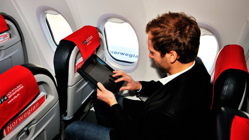 """""""Mile-high house hunters"""", """"Airborne auction bidders"""" and the """"In-flight informed"""" – Norwegian unveils the most popular websites for UK passengers"""