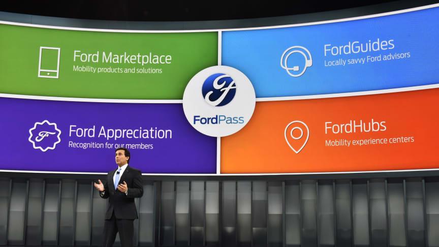 Ford vil vise ny bil og nye teknologier på  Mobile World Congress i Barcelona.