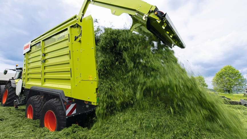 New features for CARGOS dual-purpose and forage transport wagons