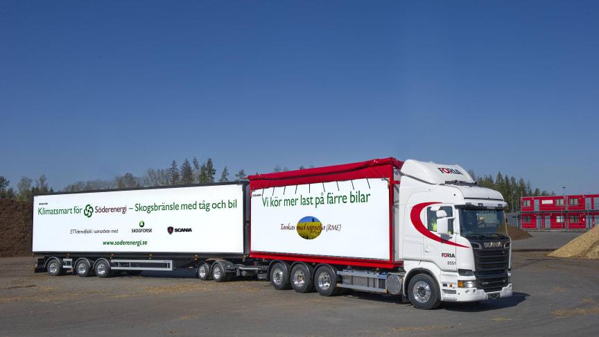Kliv in i en 74-tonsbil i Almedalen!