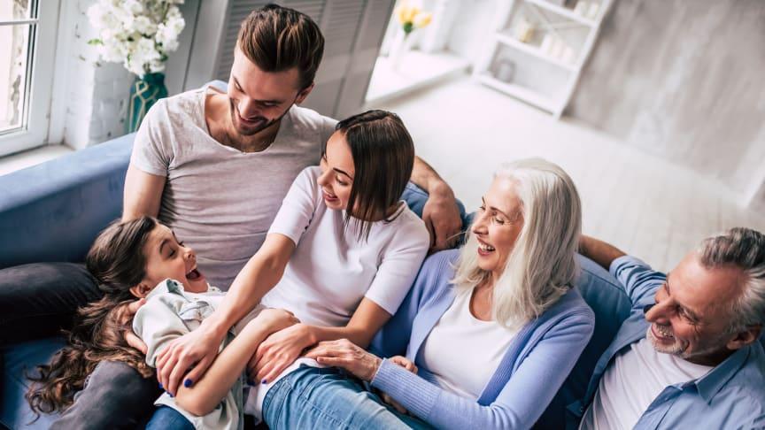 Siden 2019 er der sket et fald i antallet af husstande bestående af flere familier. Coronanedlukningen kan være medvirkende årsag, påpeger adm. direktør i Estate, Peter J. Mattsen. Foto: Shutterstock. Alle rettigheder forbeholdt.