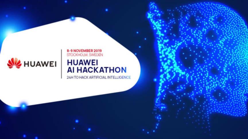 Huawei håller hackathon om AI i Stockholm