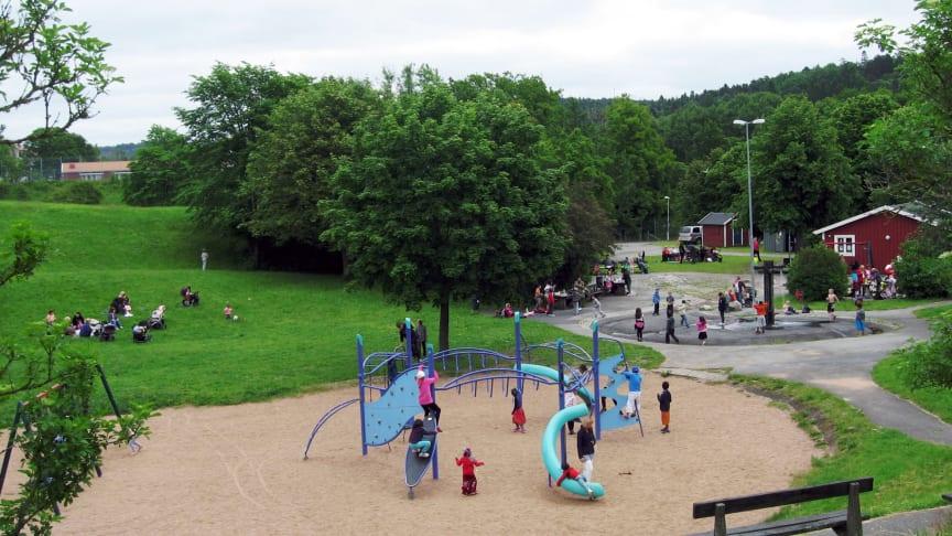 Gemenskapsprojekt räddade Fritidsparken i Eriksbo