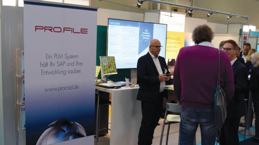PROCAD auf dem DSAG Jahreskongress 2019 - verbesserte PRO.FILE-Integration in die SAP-Welt. Foto Zscheile