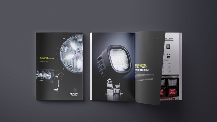 Ute nu – Strands Lighting Divisions katalog 2018