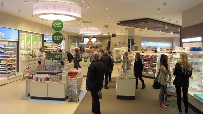 Apotek 1 med nytt storkonsept-apotek i Sarpsborg