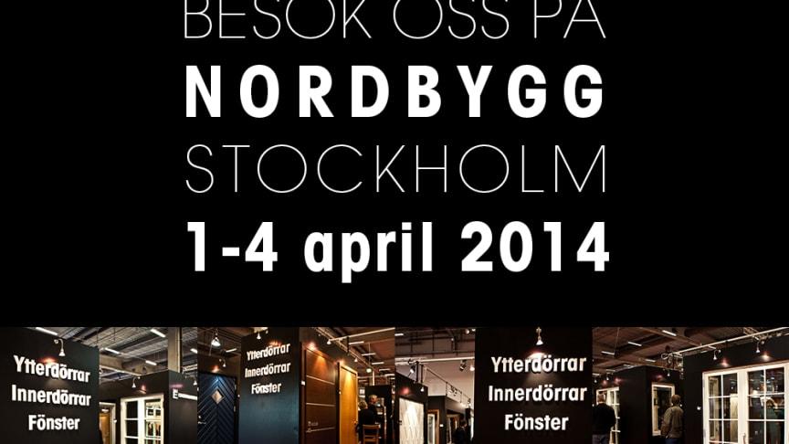 Ekstrands Dörrar & Fönster på Nordbygg 2014