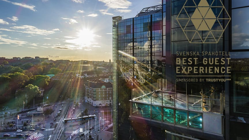Upper House i Göteborg vinnare av Svenska Spahotells Best Guest Experience Award 2018
