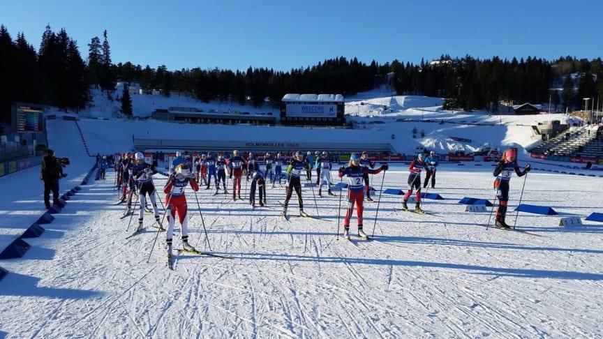 AVLYSES: Skiskytter-arrangementer i inn- og utland avlyses for å hindre spredning av korona-smitte.