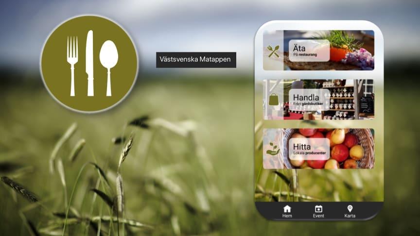 Den Västsvenska Matappen innehåller tips på vart du kan kan få en god kvalitativ måltid och information om var våra fina lokala produkter kan inhandlas direkt från producent och i mindre delikatessbutiker.