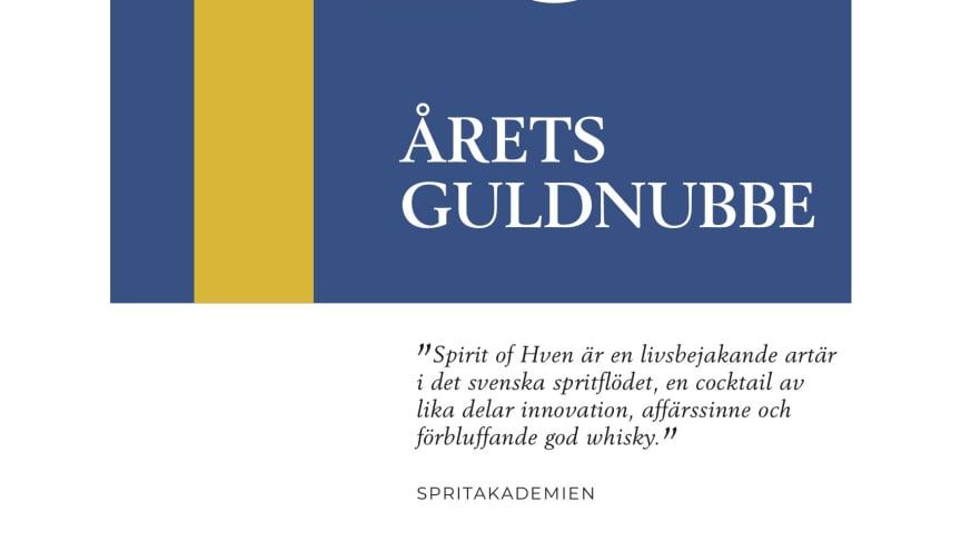 Spirit of Hven och Pelikan på Södermalm i Stockholm belönade av Spritakademien
