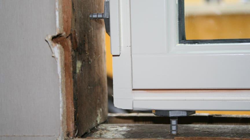 På Nordbygg lanserar Würth den unika Vaterskruven för fönster och dörrar