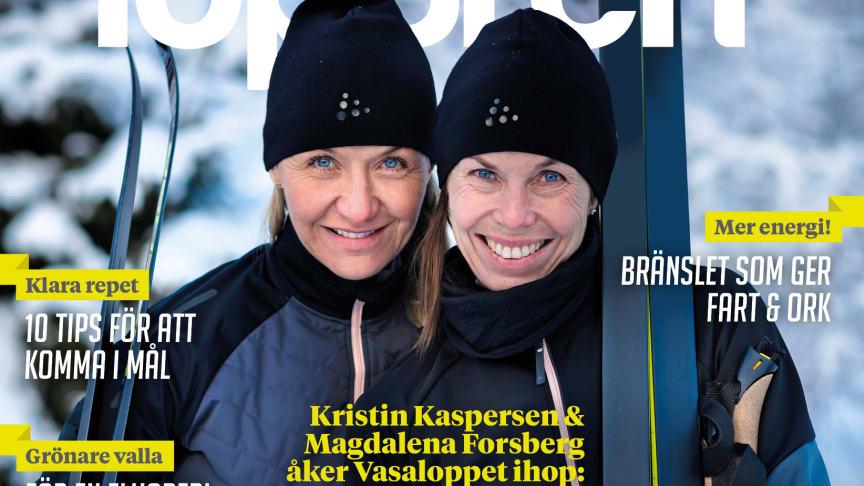 """""""Let's Ski"""" – Kristin Kaspersen och Magdalena Forsberg åker Vasaloppet tillsammans!"""