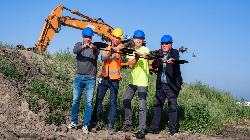 Returums första etapp kommer att byggas av Peab Anläggning tillsammans med Modulo Systems