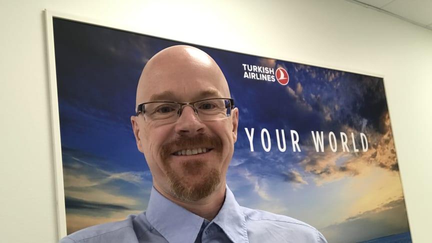 Tobias Andersson, Regional Corporate Sales Representative, Turkish Airlines.
