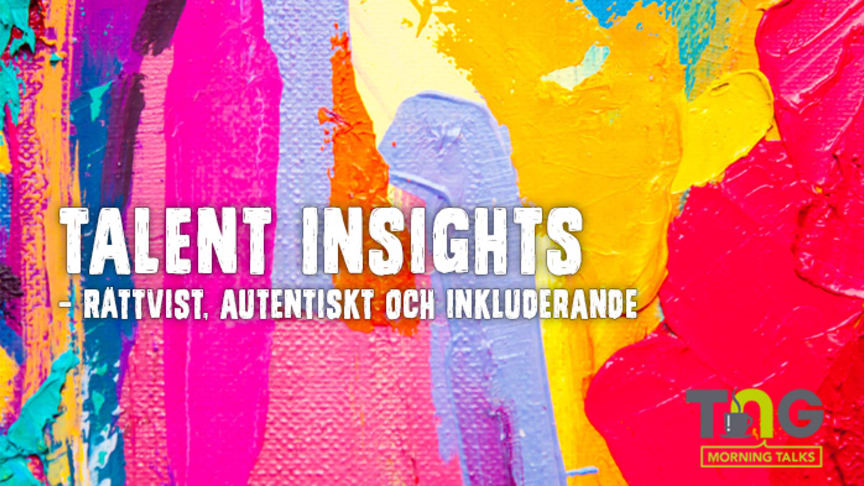 Talent Insights: Fördomsfritt frukostseminarium i Göteborg 25/9