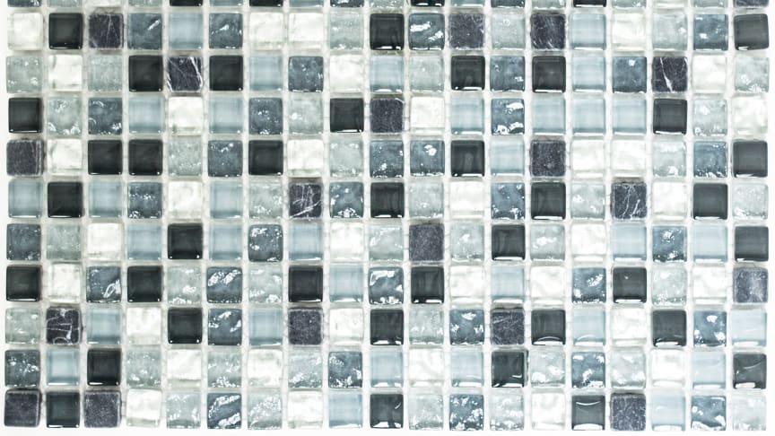 Mosaik Eventyr Den Lykkelige Familie Blå 30x30, 1.198 kr. M2.