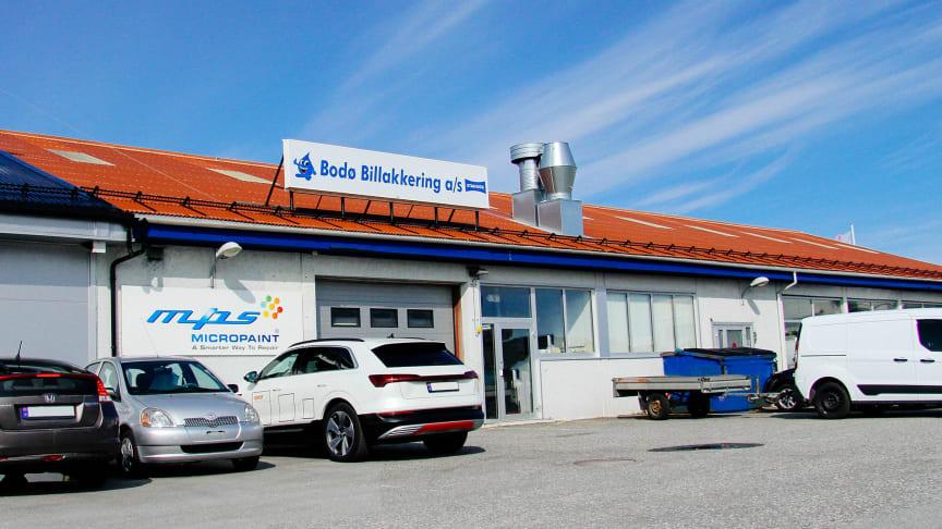Bodø: Nordvik Gruppen har inngått intensjonsavtale om kjøp av Bodø Billakkering AS. Foto: Nordvik