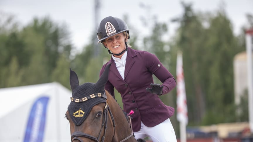 Hannah Åkerblom, bosatt i Barcelona, kommer till Sverige för SM i augusti. Foto: Roland Thunholm