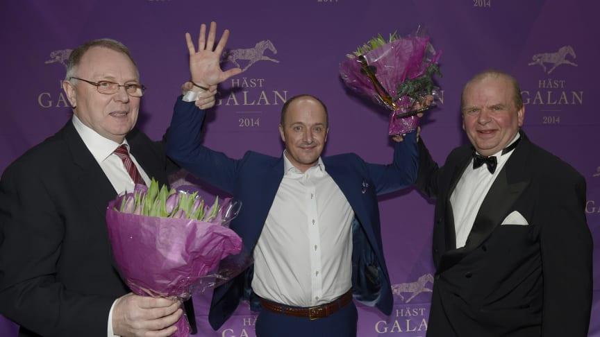 Robert Bergh dominerade Hästgalan 2014