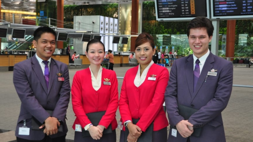 Service goes up another notch at Changi Airport