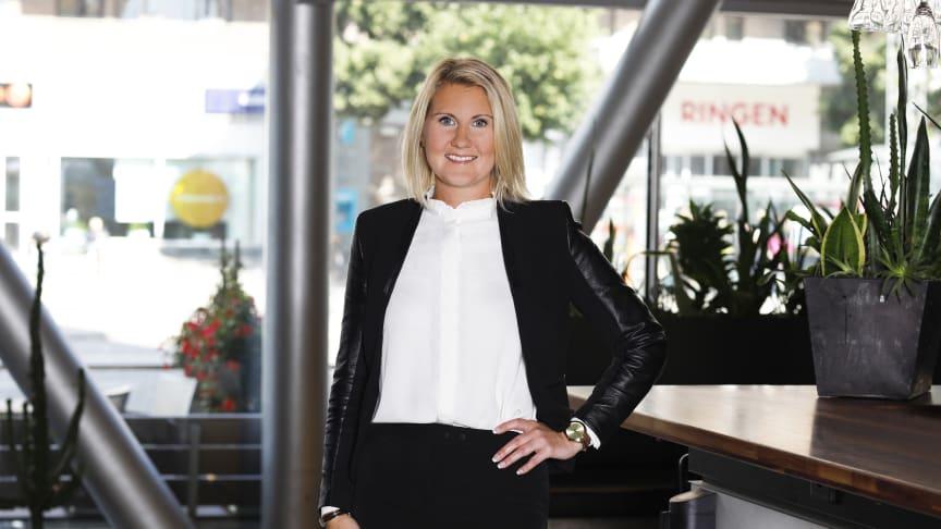Ida-Maja Tejle, tillträdande General Manager på Clarion Hotel Stockholm
