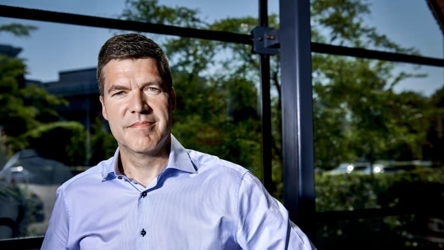 """""""Virksomhedernes øgede fokus på medarbejdergoder under corona afspejles tydeligt i vores flotte 2020-resultat,"""" udtaler Visma LogBuys adm. direktør, Daniel de Visme."""