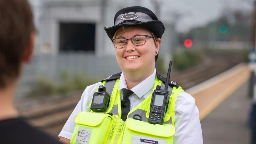Rail enforcement team leader