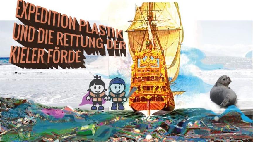 Meeresmüll kunstvoll in Szene gesetzt. Ein Workshop für Kinder zum Thema Meeresschutzstadt Kiel