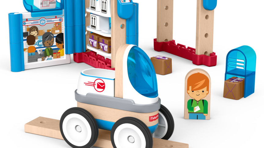 Fisher-Price Wunder Werker Post