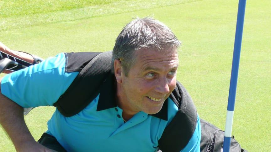 Hole in one vid kändisgolf på Landeryds golfklubb