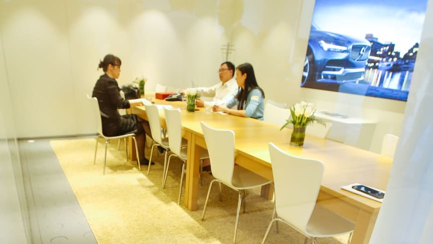 Blueair and Volvo Cars partner at Beijing International Automobile Show to bring clean air to breathe to visitors