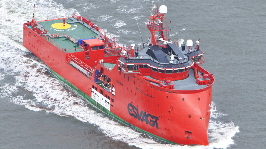 """'Esvagt Aurora' featured in the Discovery Channel series """"Ultimate, Massive Ships"""""""