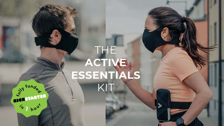 IAMRUNBOX's Active Essentials Kit was launched yesterday on Kickstarter and was over-funded within one hour with over 250 backers up to date.