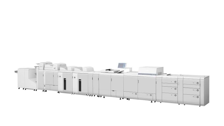 Canon höjer ribban för digital tryckpressproduktion