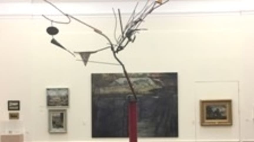 A model of the new artwork at Bury Sculpture Centre