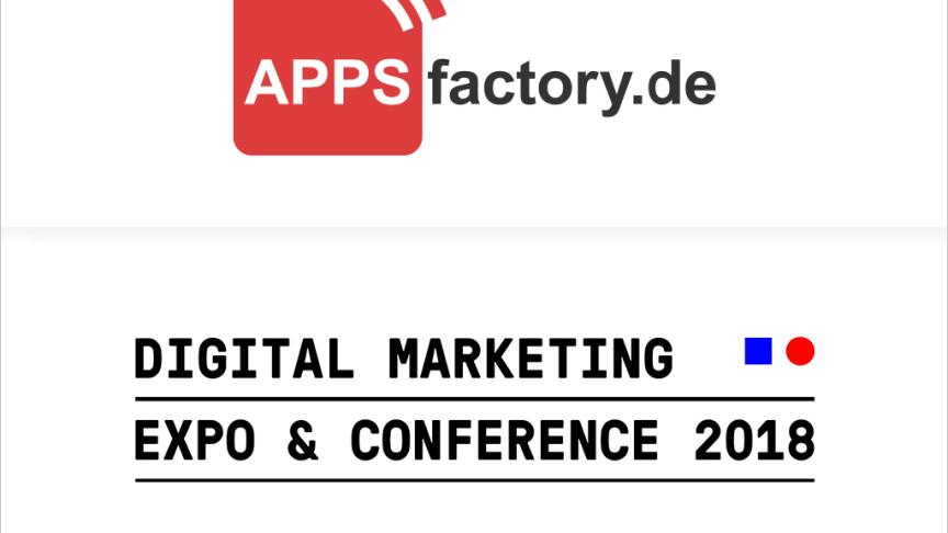 APPSfactory launcht neue Website und informiert auf DMEXCO 2018 zu Progressive Web Apps und Mobile Design Trends an deutlich vergrößertem Messestand