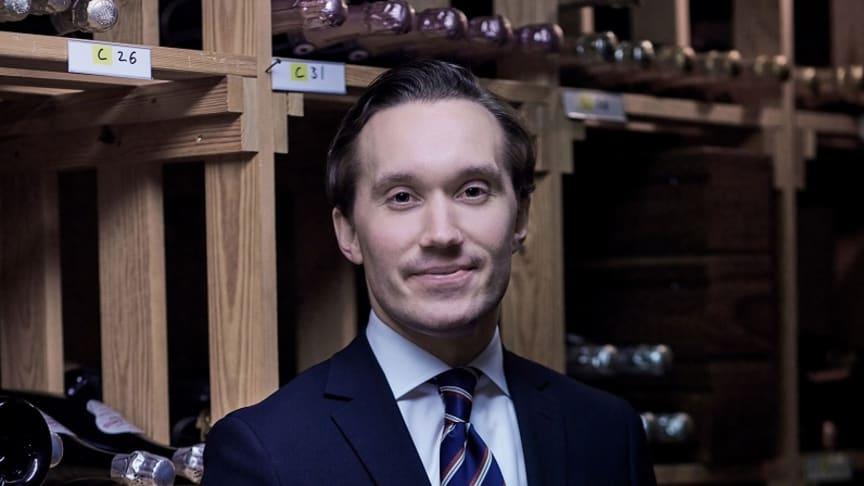 Fredrik Lindfors representerar Sverige
