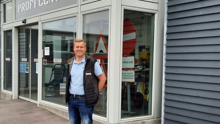 Ekstern sælger Brian Jensen Clausen fra Bygma Aarhus har 25-års jubilæum den 1. juli.