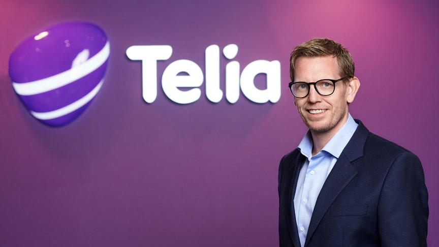 Per Christian Mørland som nå blir CFO i Telia-konsernet