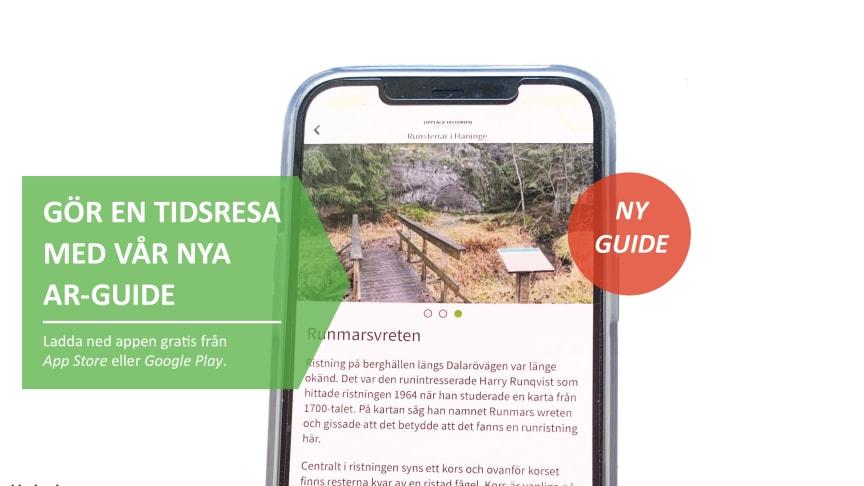 Stockholms läns museum lanserar ny guide med AR-funktion.