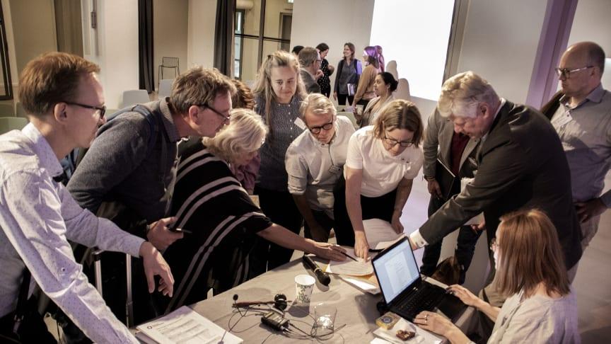 Direkt efter årsmötet konstituerades den nya styrelsen med Eva Nordenstam von Delwig som ny ordförande.