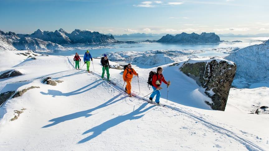 Hurtigrutens Arctic Haute Route - våren 2017 med MS Nordstjernen.